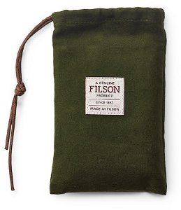 Filson Bridle Leather Bi-Fold Wallet Reusable Bag  11070399