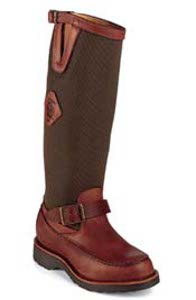 Chippewa 23922 Zipper Snake Proof Boots Chippewa 23922 with Zipper Back for Easy Entry