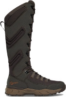"Danner Vital Hot Weathe 17"" Brown Lace-Up Snake Proof Boot"