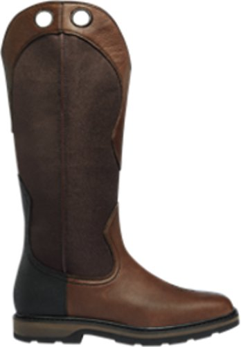 "LaCrosse Men's 17"" Snake Country Wet Brown Snake Boot - 521172"